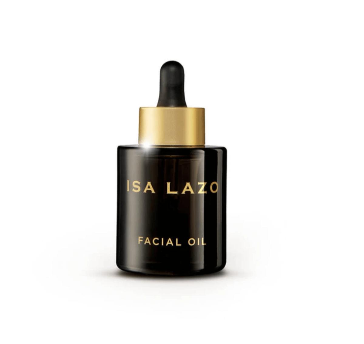 isa lazo facial oil
