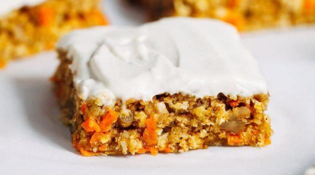 Making Thyme for Health: no-bake carrot cake bars