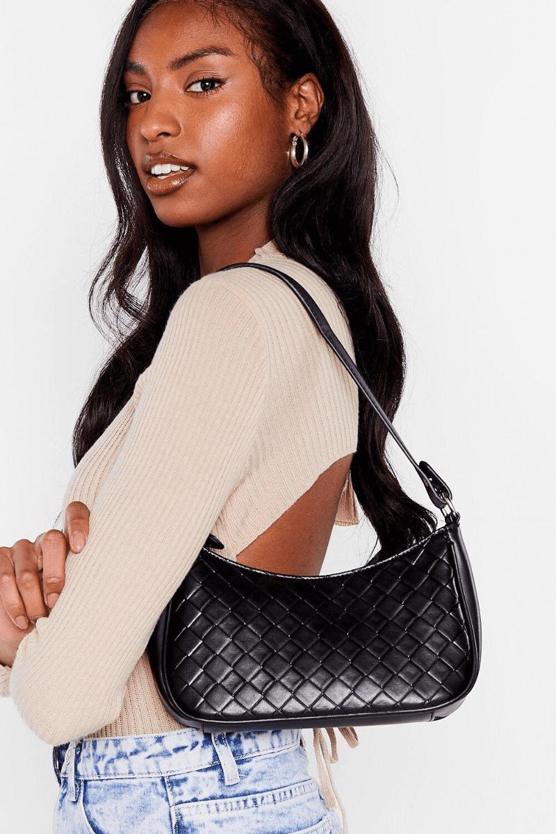 mini baguette purse