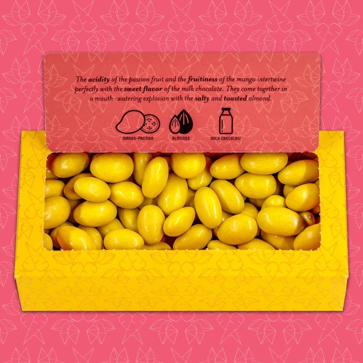 Omnom Mr Carrots Almond Box inside