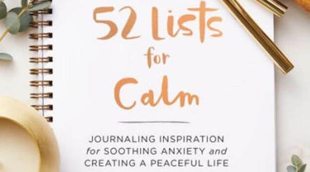 Sasquatch Books: 52 Lists for Calm by Moorea Sea