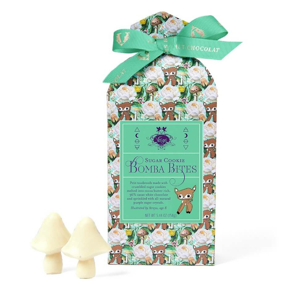 Vosges sugar cookie bomba bites