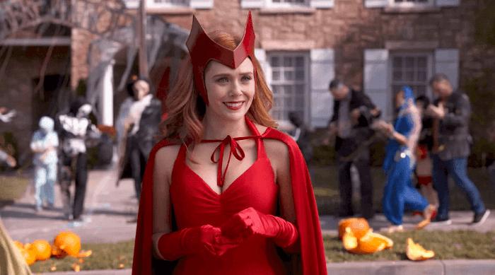 WandaVision Wanda in Scarlet Witch Halloween costume