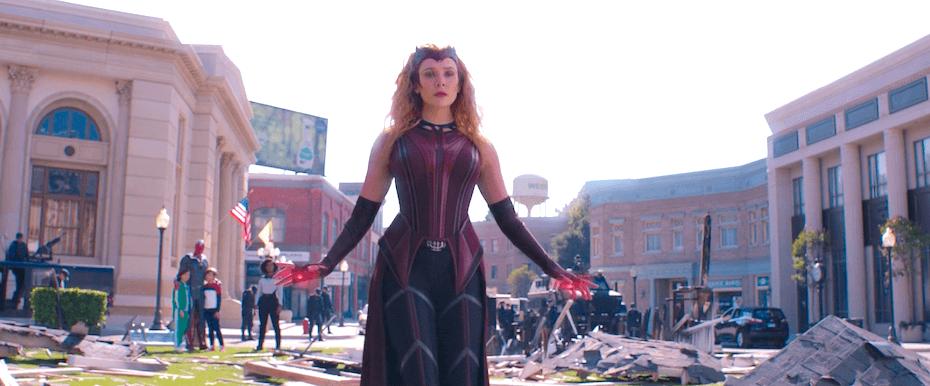 WandaVision: Wanda in new Scarlet Witch costume