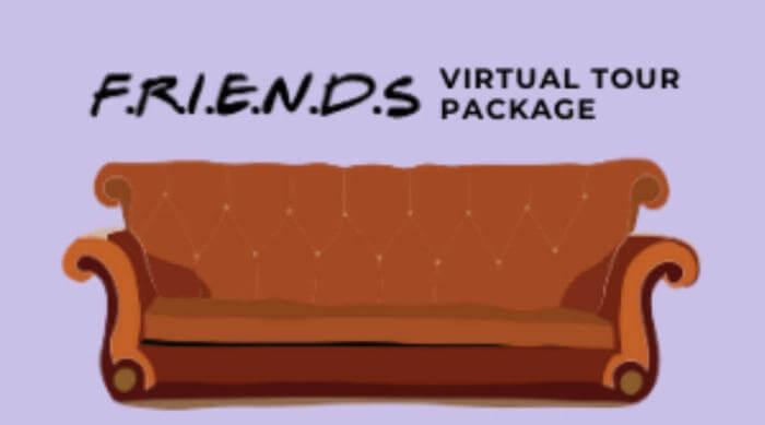 friends virtual tour