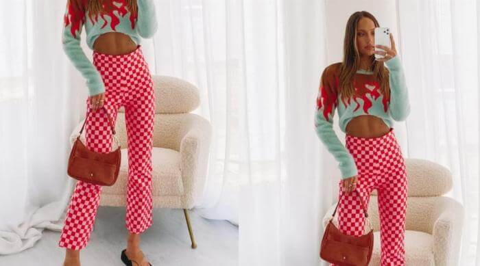 beginning boutique pink pants