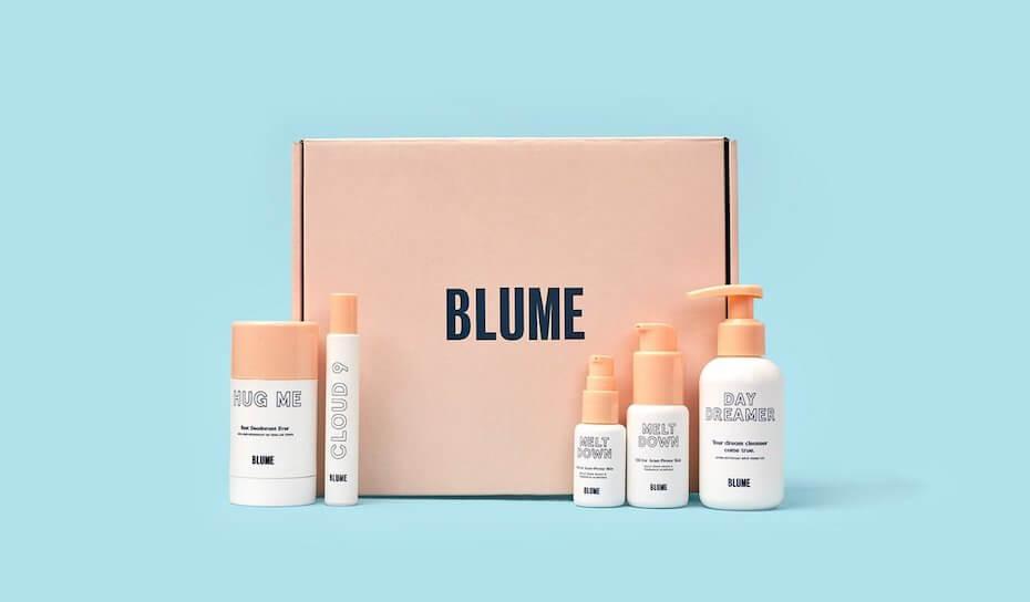 Blume skincare bundle
