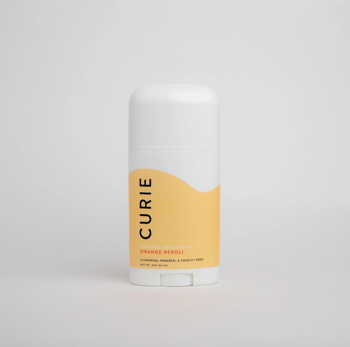 curie orange neroli deodorant