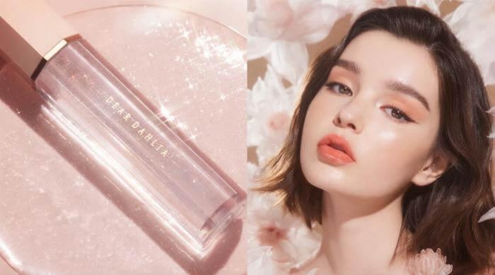 dear dahlia clear lip gloss