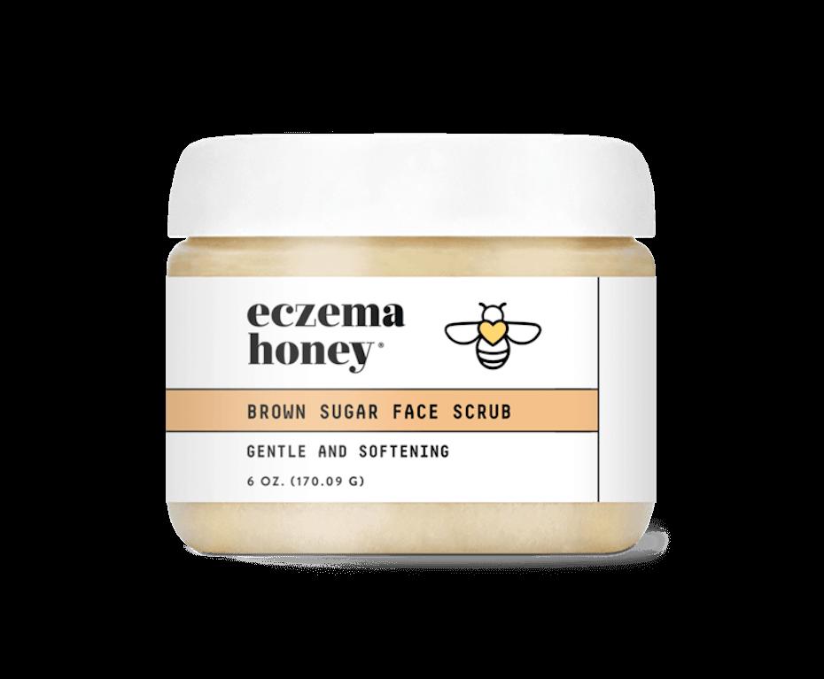 Eczema Honey borwn sugar face scrub