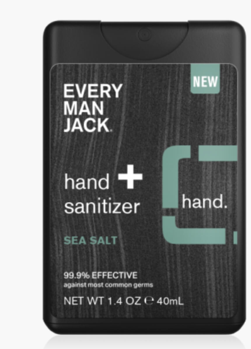 every man jack sea salt hand sanitizer