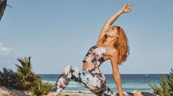 girl woman yoga onzie