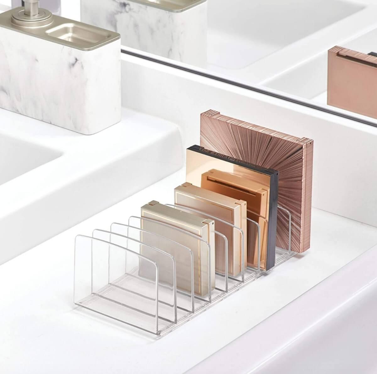 idesign acrylic makeup palette beauty organizer