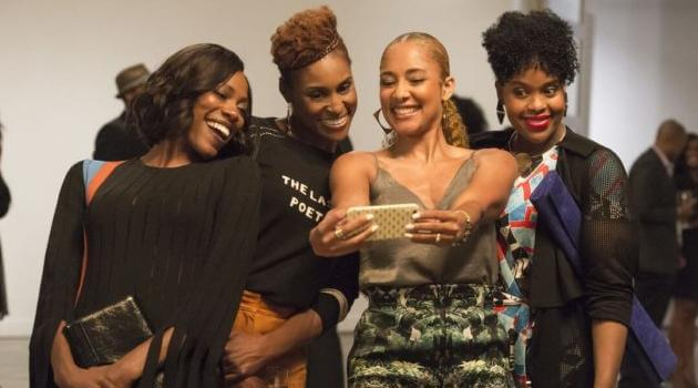 HBO: Insecure Cast- Molly Carter, Issa Rae, Tiffany DuBois, Kelli