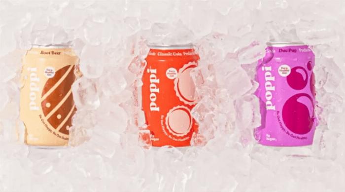 Instagram @drinkpoppi classic line sodas