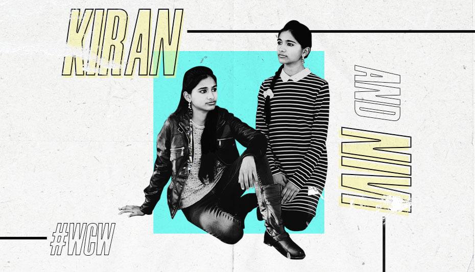 Kiran and Nivi Woman Crush Wednesday