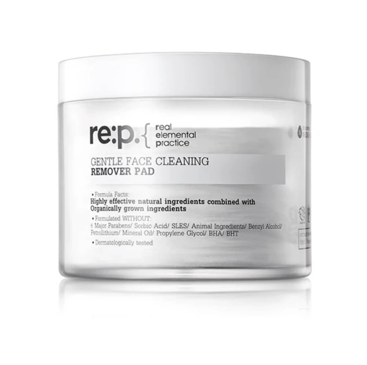 rep face cleaning pads