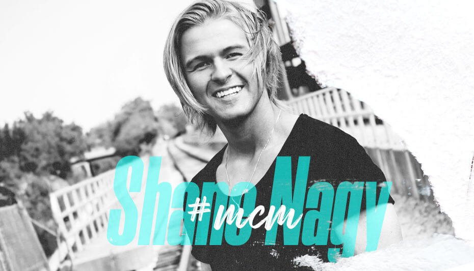 Shane Nagy Man Crush Monday