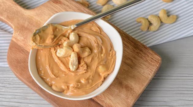 Shutterstock: cashew butter