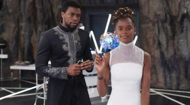 Marvel Studios: T'Challa and Shuri in Black Panther