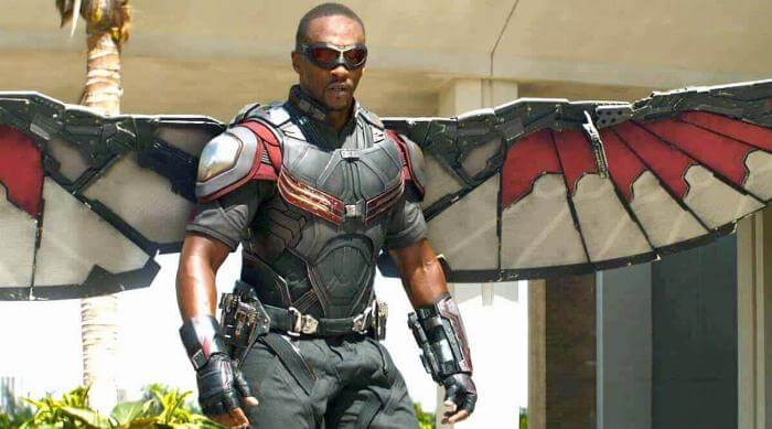 The Falcon and the Winter Soldier: Sam Wilson as Falcon
