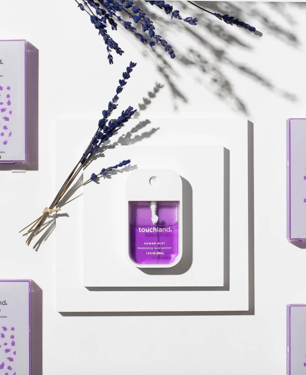 touchland lavender hand sanitizer
