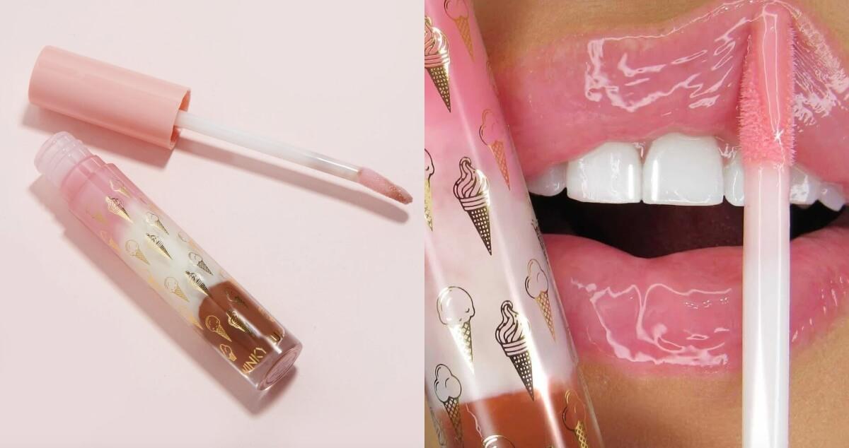 winky lux neopolitan lip gloss