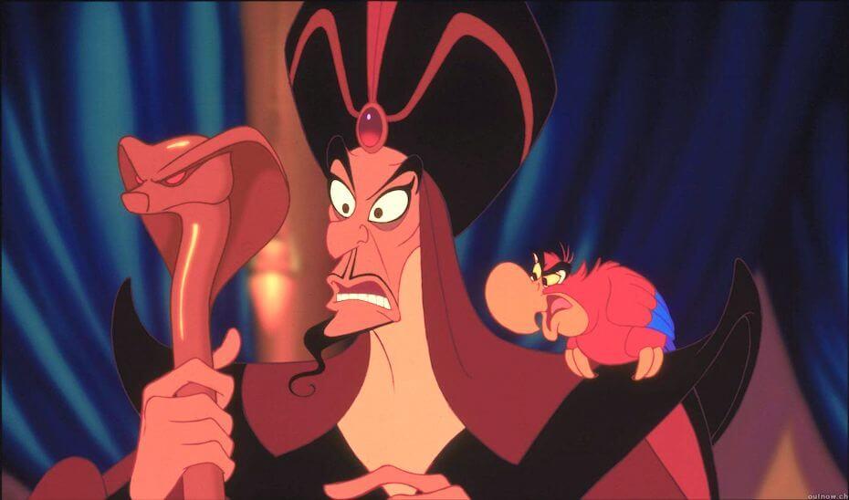 Aladdin: Jafar and Iago