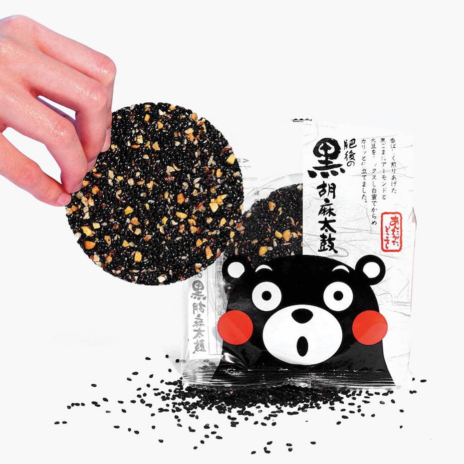 Bokksu: Black Sesame Taiko Kumamon
