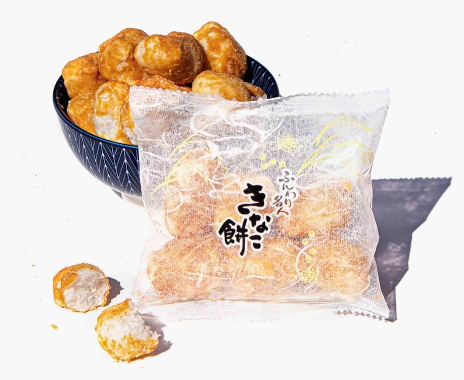 Bokksu: Funwari Meijin mochi puffs