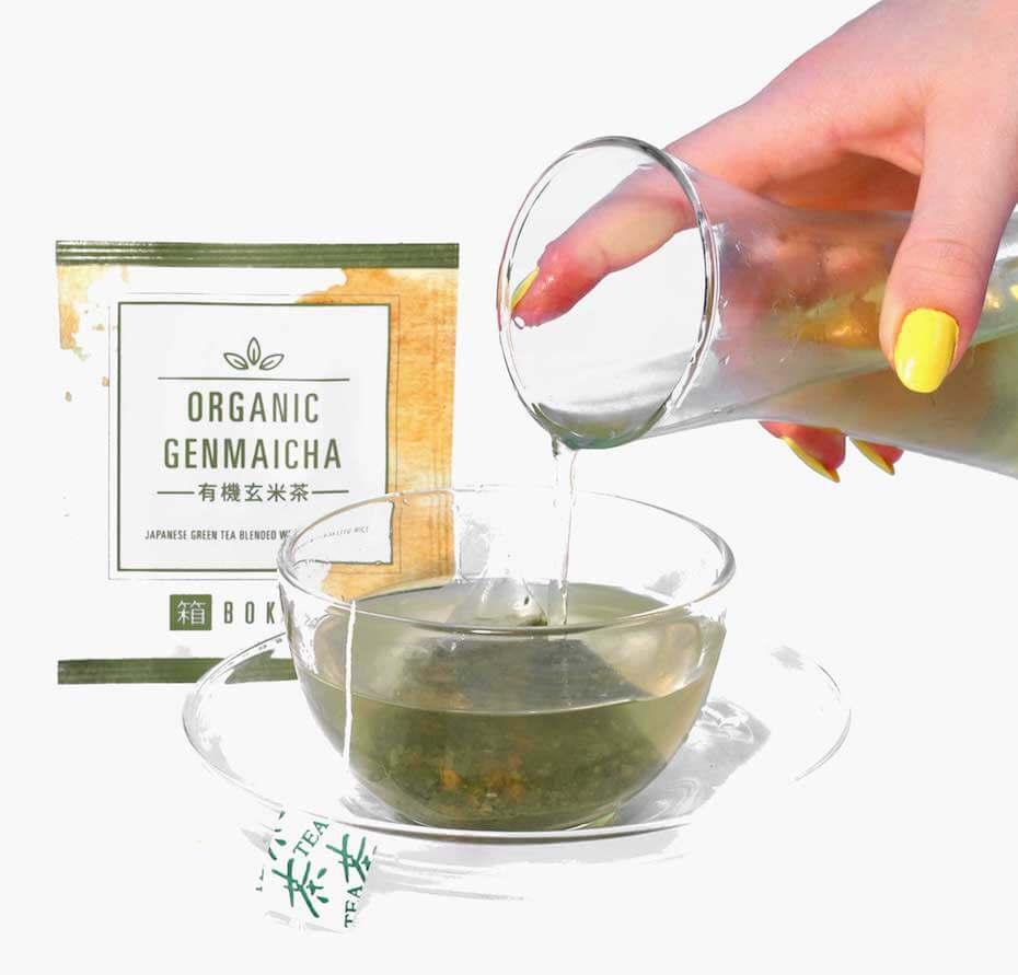 Bokksu: Organic Genmaicha Tea