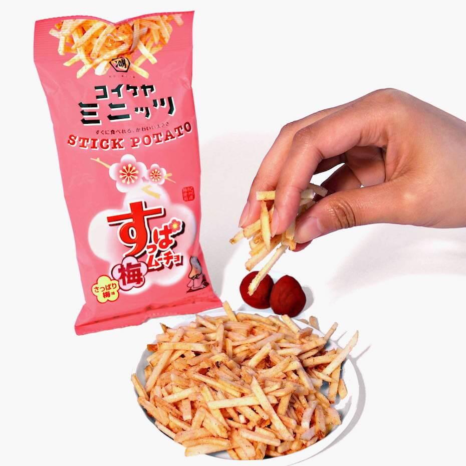 Bokksu: Stick Potato; Suppa Mucho Plum