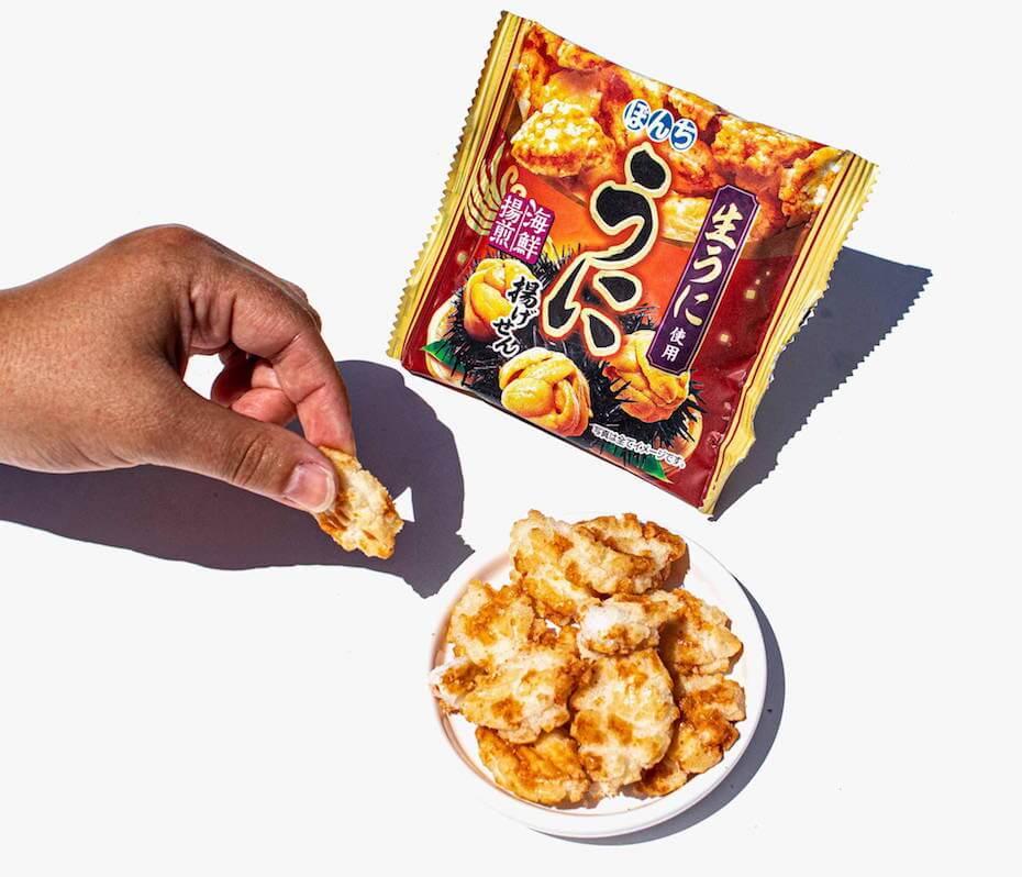 Bokksu: Uni Rice Cracker
