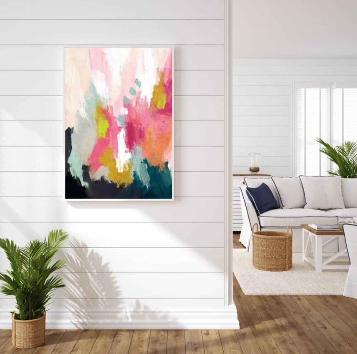 etsy art colorful abstract