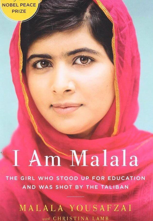 Confer Books; 1st edition (June 1, 2015): I Am Malala: The Girl Who Stood Up For Education And Was Shot By The Taliban written by Malala Yousafzai with Christina Lamb