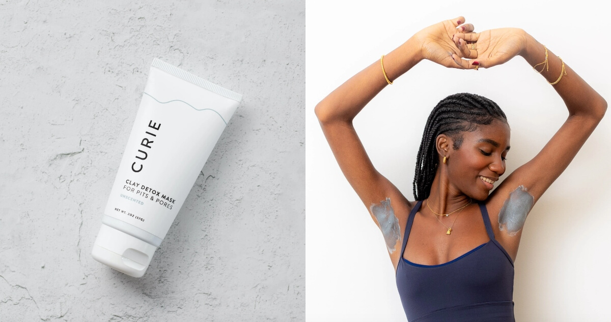 curie charcoal face mask