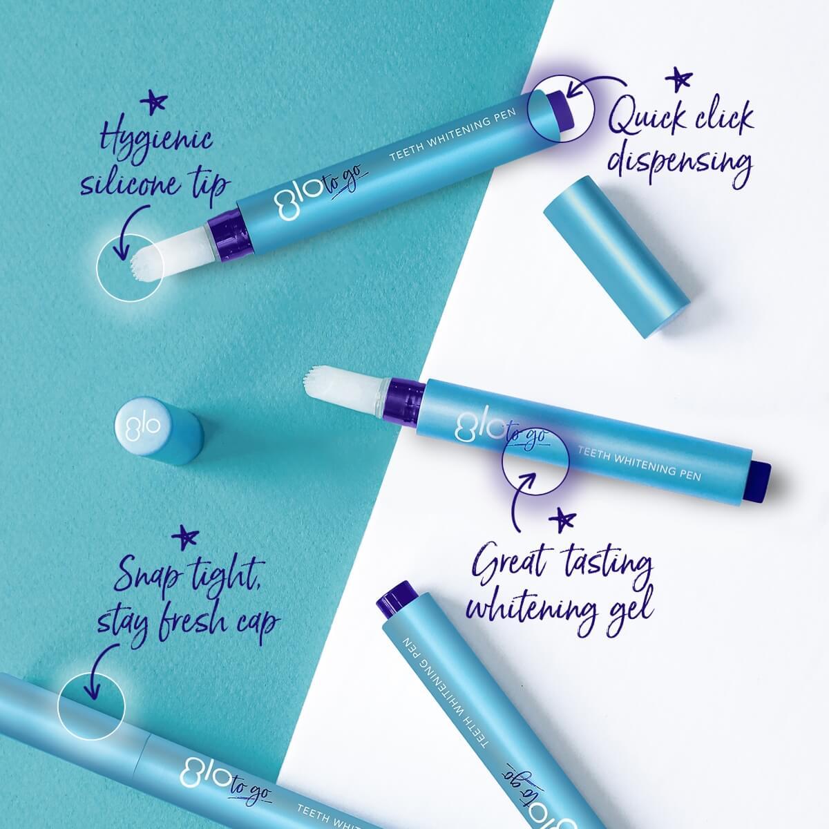 glo science glo to go teeth whitening pen