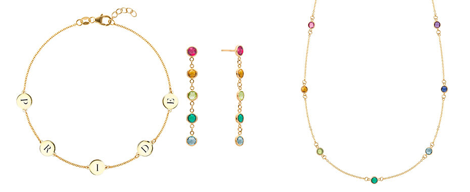 Haverhill Jewelry Rainbow Collection