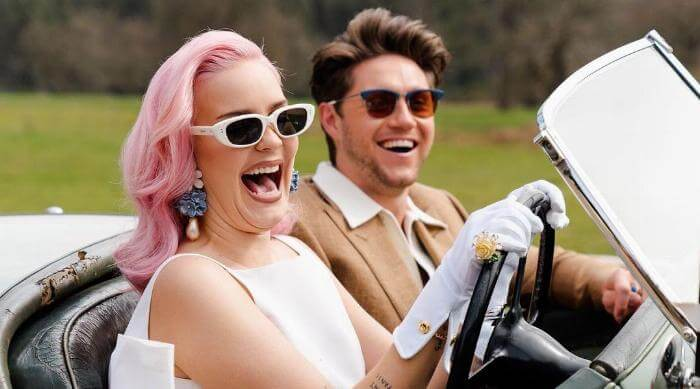 """Instagram @annemarie niall horan """"Our Song"""" driving smiling"""