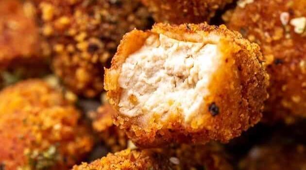Jessica in the Kitchen: vegan chicken tofu nuggets