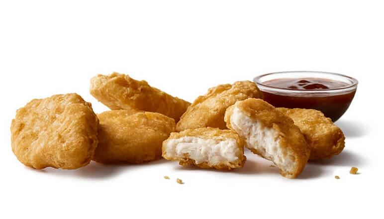 McDonald's 6 piece chicken nuggets