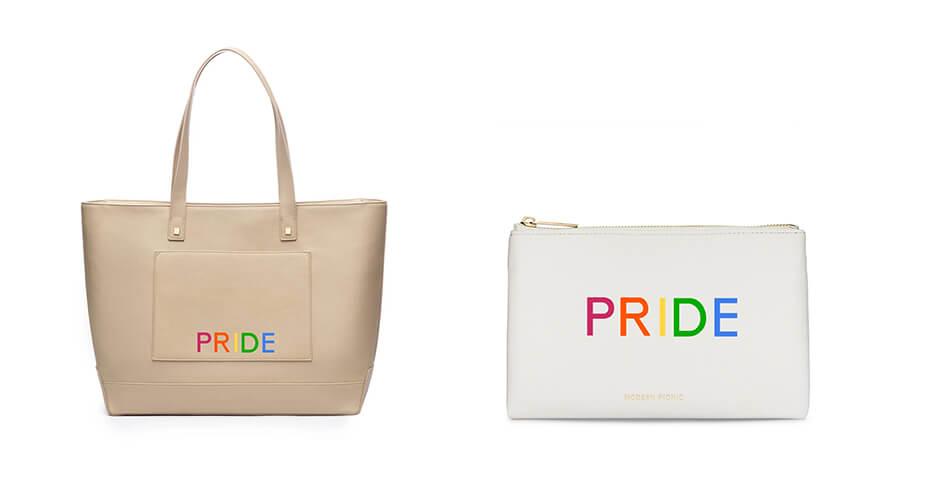 Modern Picnic Pride Tote Bags
