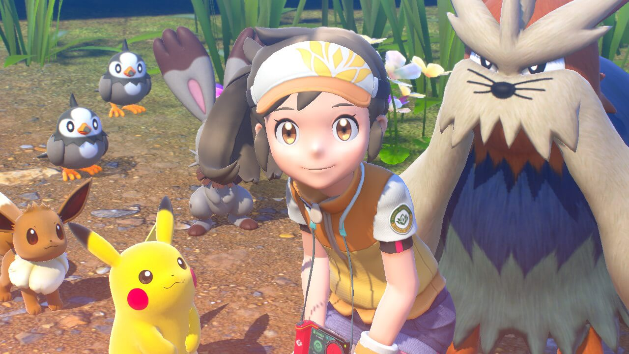 New Pokémon Snap group photo