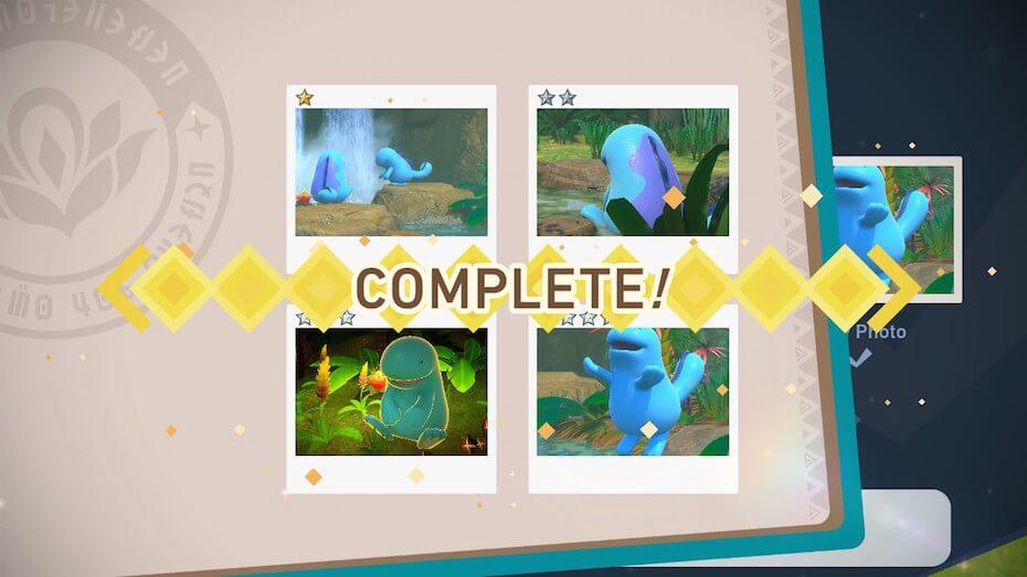New Pokémon Snap Quagsire complete