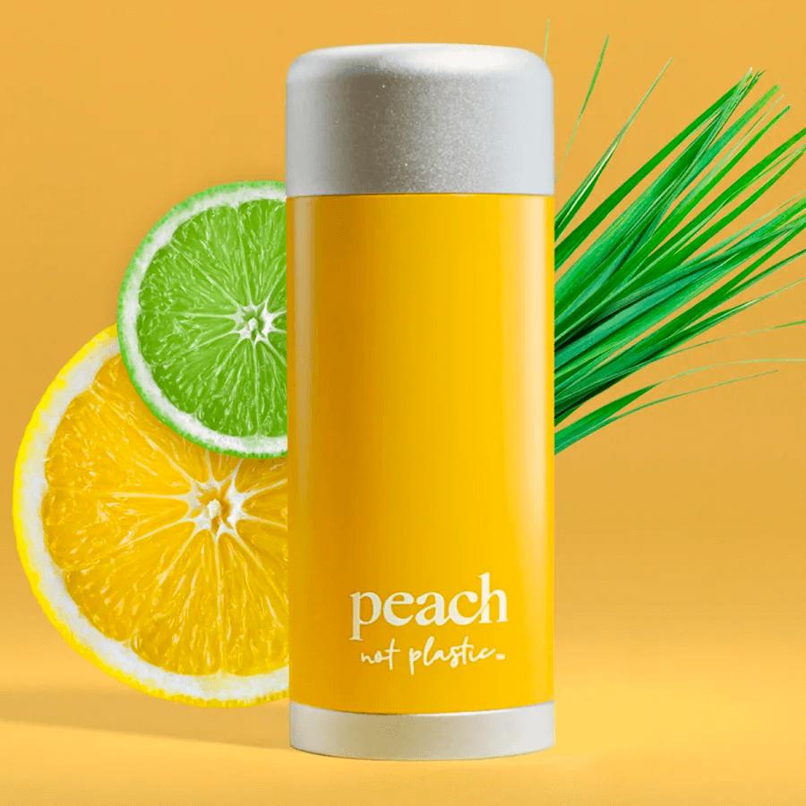 Peach citrus vetiver deodorant