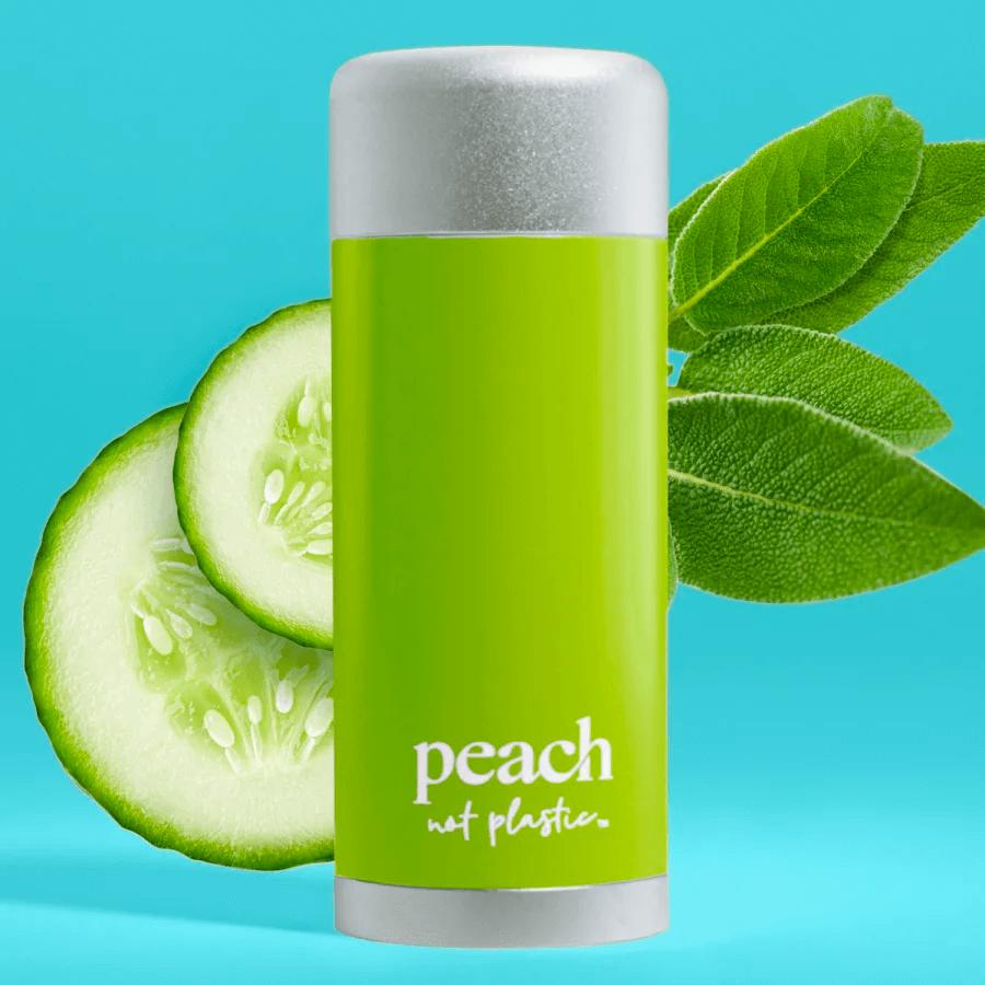 Peach cucumber sage deodorant