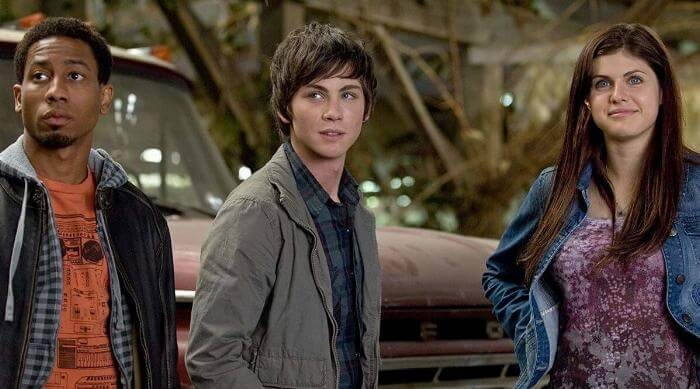 Percy Jackson: The Lightning Thief: Grover, Percy and Annabeth