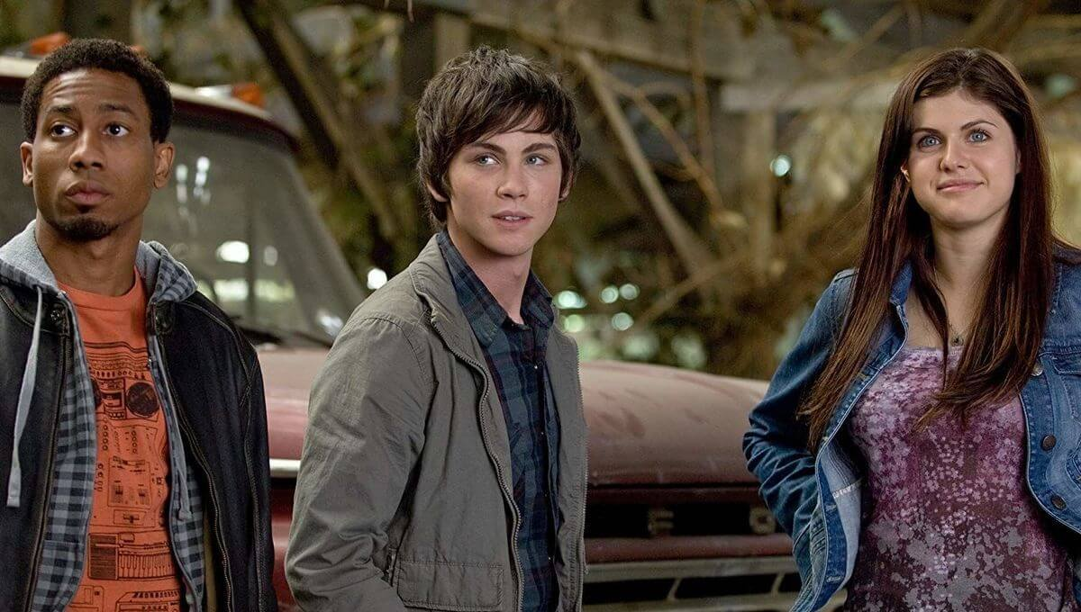 Percy Jackson: The Lightning Thief: Grover, Percy and Annabelle