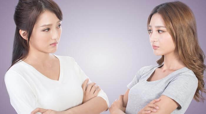 Shutterstock: two friends fighting