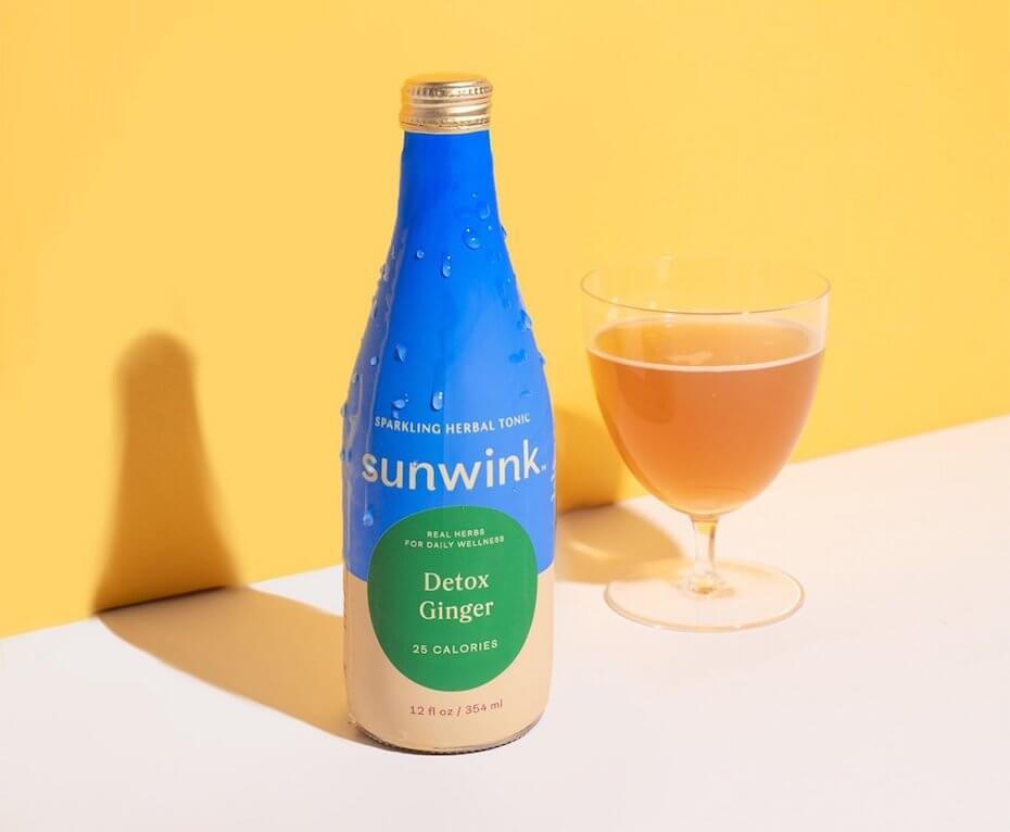 Sunwink Detox Ginger Tonic